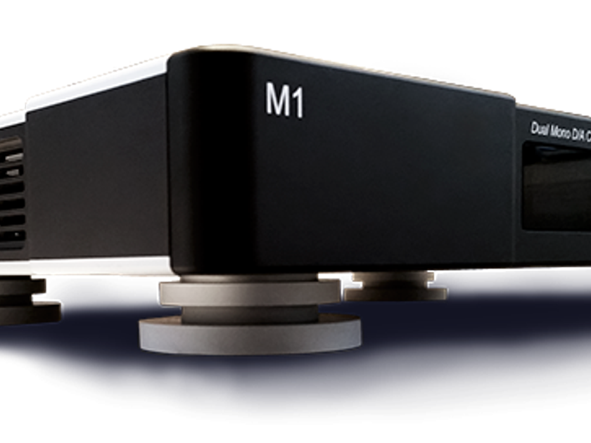BRICASTI M1 SPECIAL EDITION DUAL MONO DAC  with AES/EBU, SPDIF RCA & BNC, USB Class 2 and Toslink with Latest Software Update.