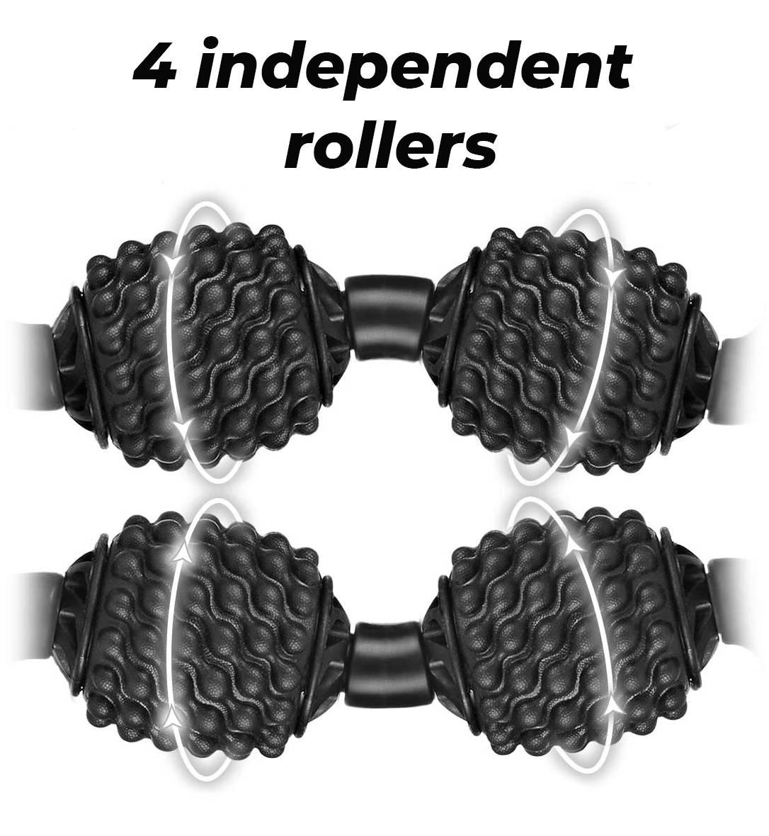 FitRoll Pro Cellulite Roller   Best massage roller for cellulite. Anti Cellulite Massager and Myofascial Massager for Cellulite