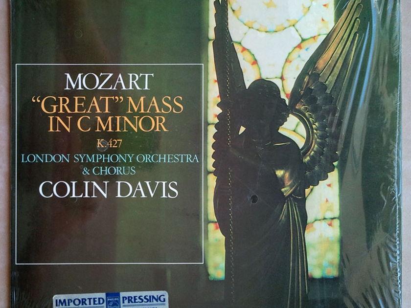 Philips/Davis/Mozart - Great Mass in C minor K.427 / 2-LP set / NM