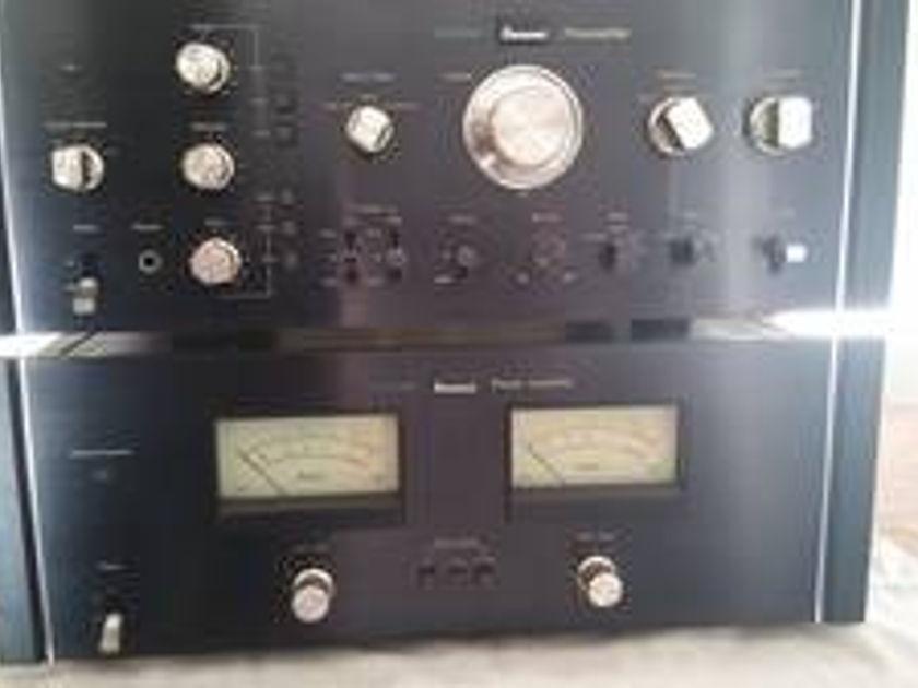 Sansui BA 2000 & CA 2000 Vintage Stereo amp & preamp