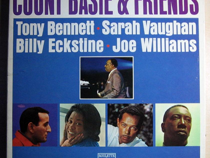 Count Basie  - Count Basie & Friends Special Edition 2 LP Box Set Roulette Records K-107