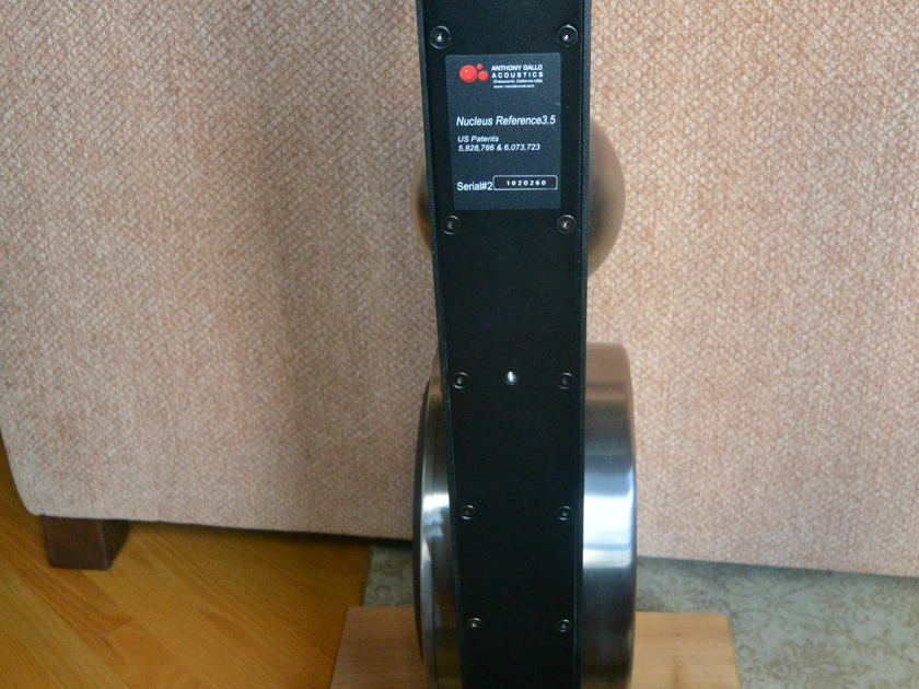 Anthony Gallo Acoustics Reference 3.5 Speakers-- Price Includes CONUS shipping and fees.