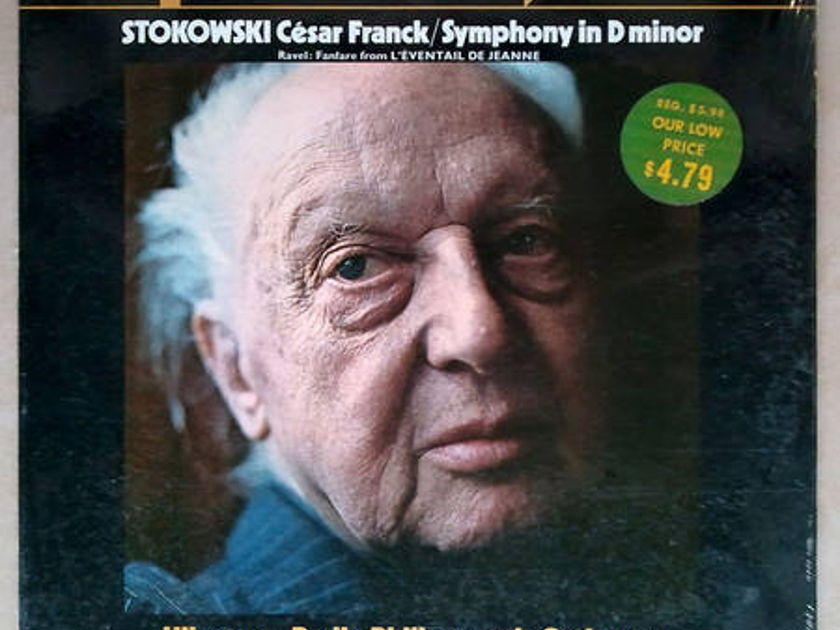 Sealed/London Phase 4/Stokowski/Franck - Symphony In D minor
