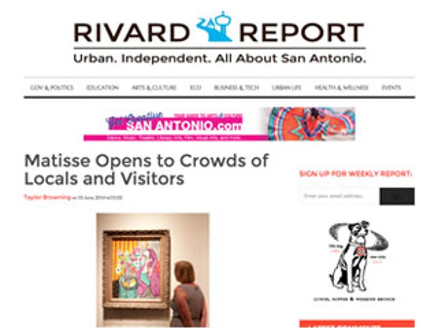 Matisse, Rivard Report