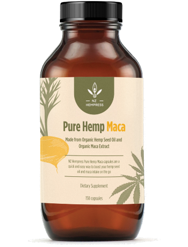pure hemp maca - hemp products nz