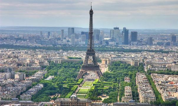 Париж с высоты птичьего полета. Экскурсия на Эйфелеву башню