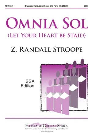 Omnia Sol SSA - Z. Randall Stroope