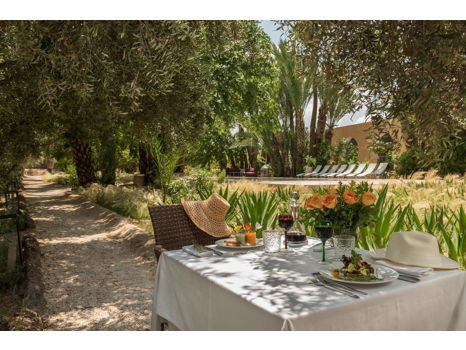 3 Night stay at Luxury Boutique Hotel Jnane Tamsna  in Marrakech