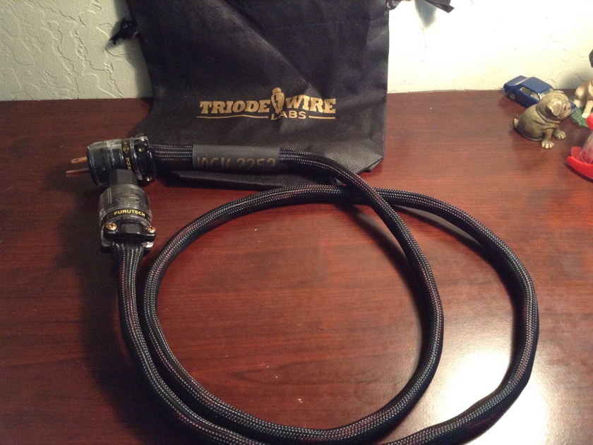 Triode Wire Labs 10+ Power Cord (5ft.) Free shipping/Paypal