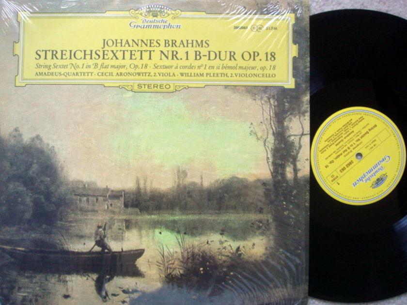 DG / Brahms String Sextet No.1, - AMADEUS QUARTET, MINT!
