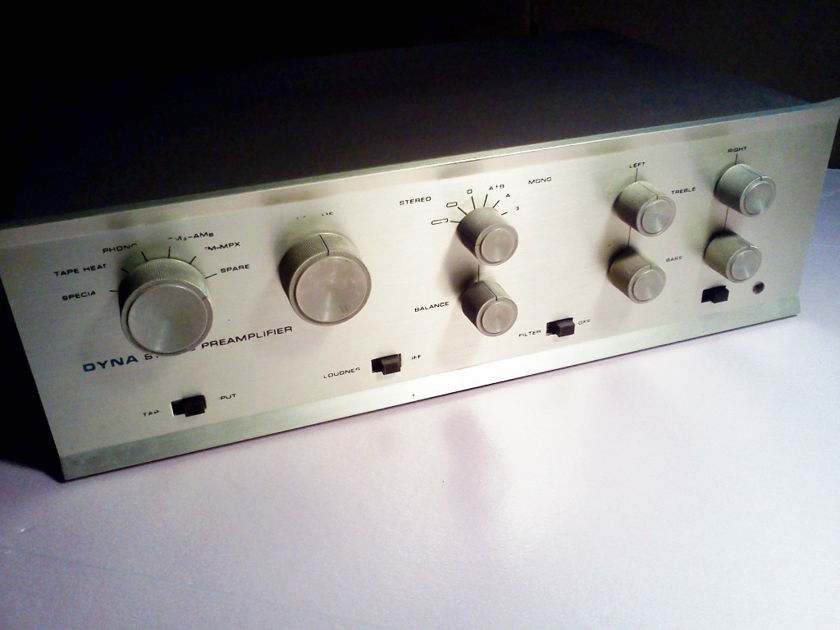 Dynaco PAS3 Tube Preamp Very Clean - Works Great