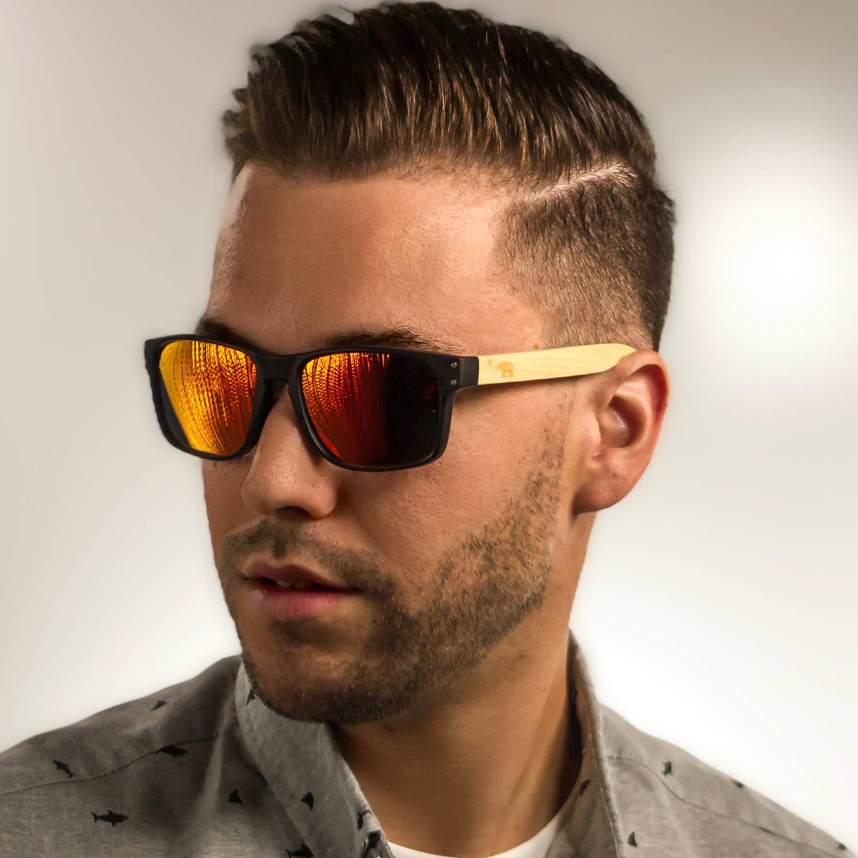 Volcanic Red Polarized Sunglasses