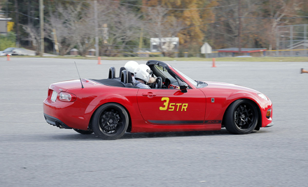 Middle GA SCCA Solo #9