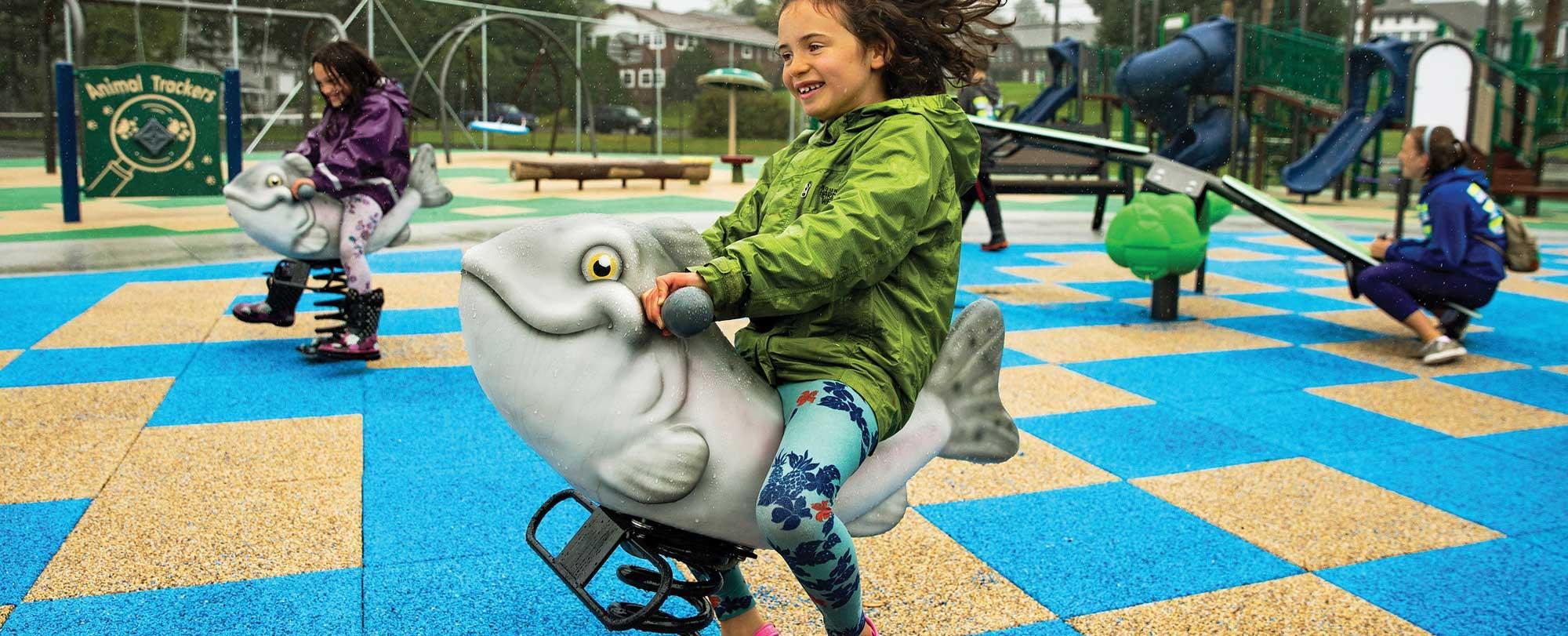 Playground Spring Rider