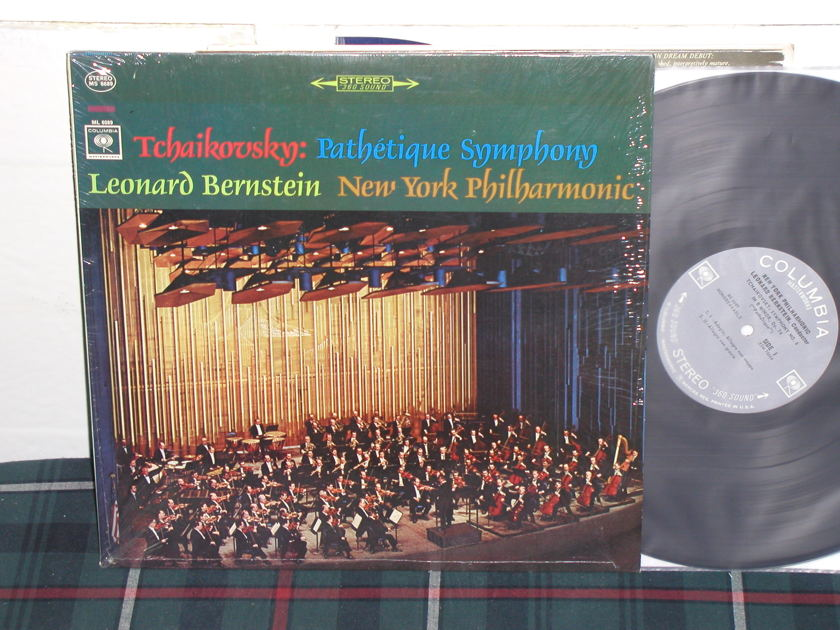 Bernstein/NYPO - Tchaikovsky Pathetiq Columbia 360 1st labels LP