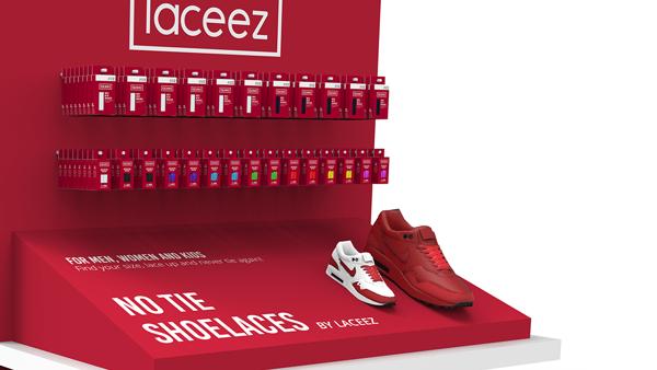 Laceez floor display