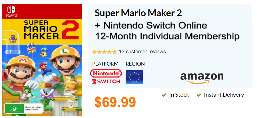 Super Mario Maker 2 Launches For Nintendo Switch On June 28   RED FOX GAMER