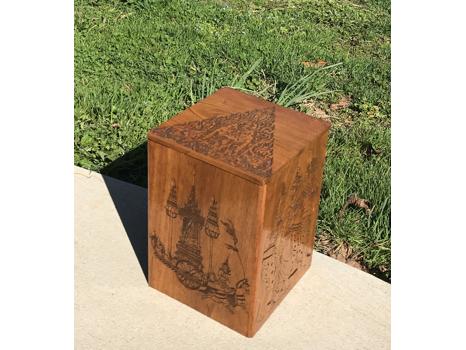 Southeast Asian Inspired Keepsake Box