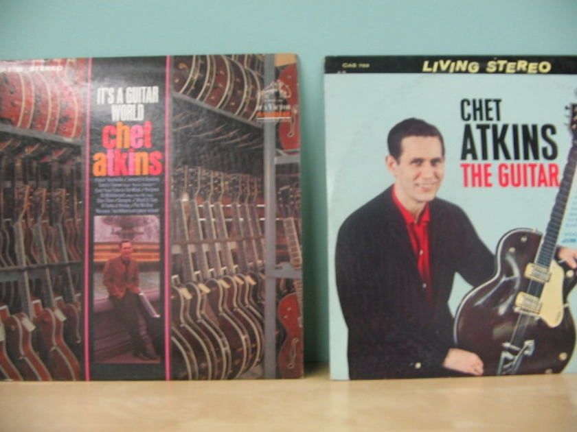 Chet Atkins Hollywood & more  - TAS Living Stereo NM Five LPs