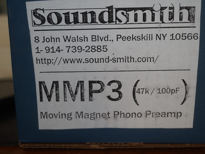 Soundsmith MMP3 Moving magnet phono preamp