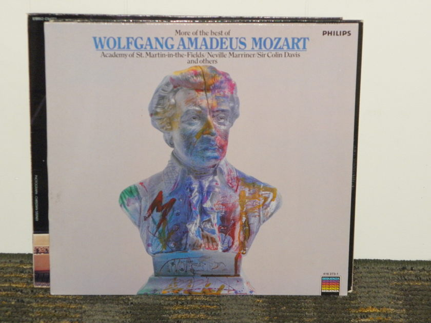Marriner/Academy St Martin - Mozart Symphony No 29+Don Giovanni Philips Import Pressing 416 273 Holland pressing