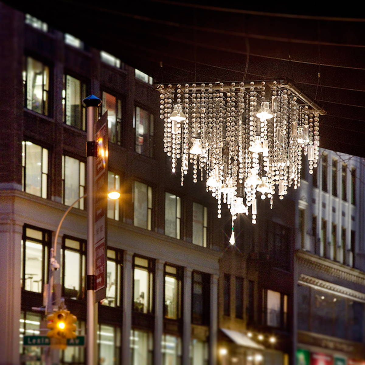 outdoor crystal chandelier
