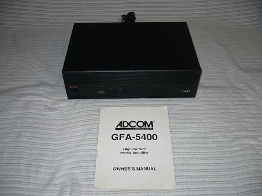 Adcom GFA 5400 Real Power, Real Cheap!
