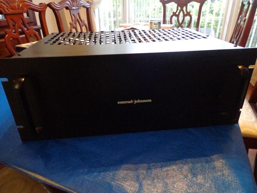 Conrad Johnson MV-50 Amplifier with the rare Black faceplate