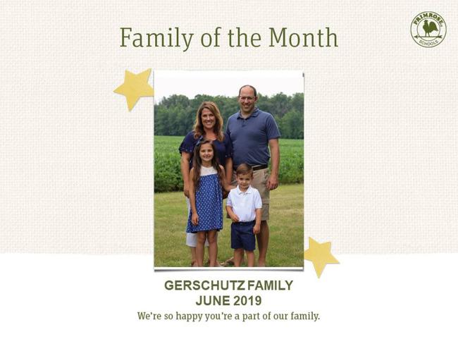 gerschutz family of the month june