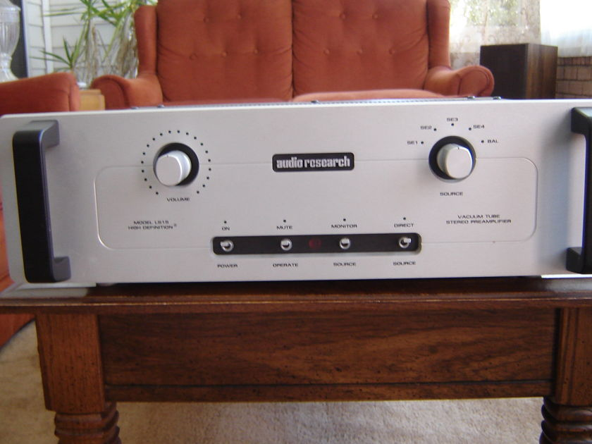 Audio Research LS-15 Audio Research LS-15 Tube Line Stage Preamp