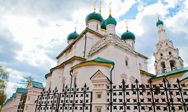 Путешествие по историческому центру Ярославля