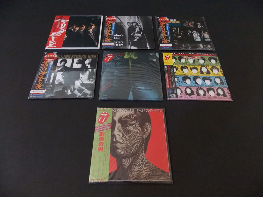 ROLLING STONES - MINI LP CD COLLECTION  NEW AND SEALED