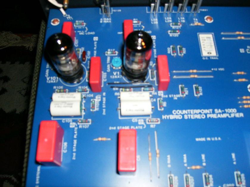 Counterpoint SA-1000A Tube Hybrid Preamplifier