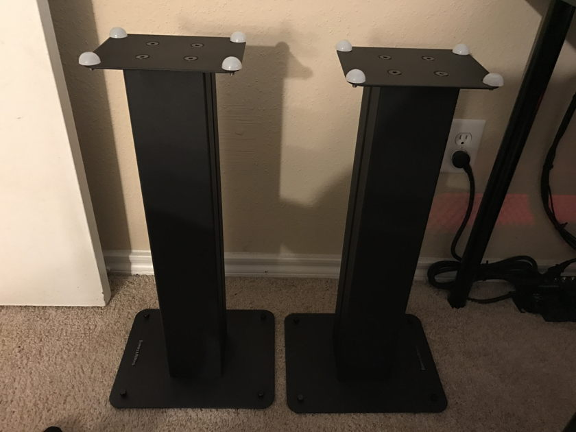 Bowers and Wilkins STAV 24 S2 Speaker Stands  (Pair)- Black