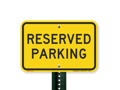 ONE RESERVED PARKING SPOT – 1pm Mass