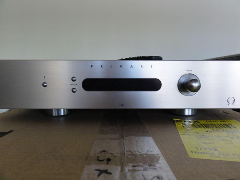 Primare I22 T silver Primare I22T silver with I22 Dac installed