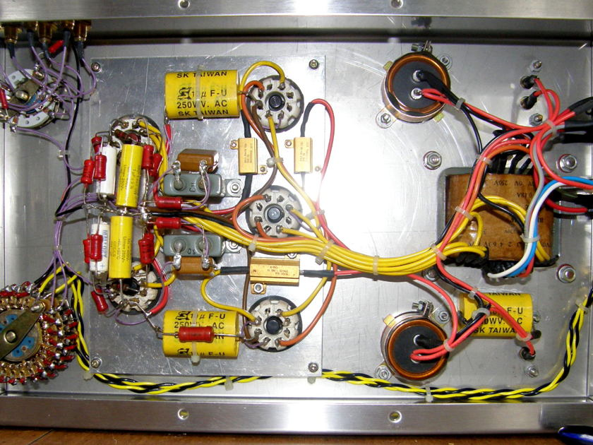 BEZ Q4B TUBE PREAMPLIFIER Q4B 6SN7 LINESTAGE, WONDERFUL