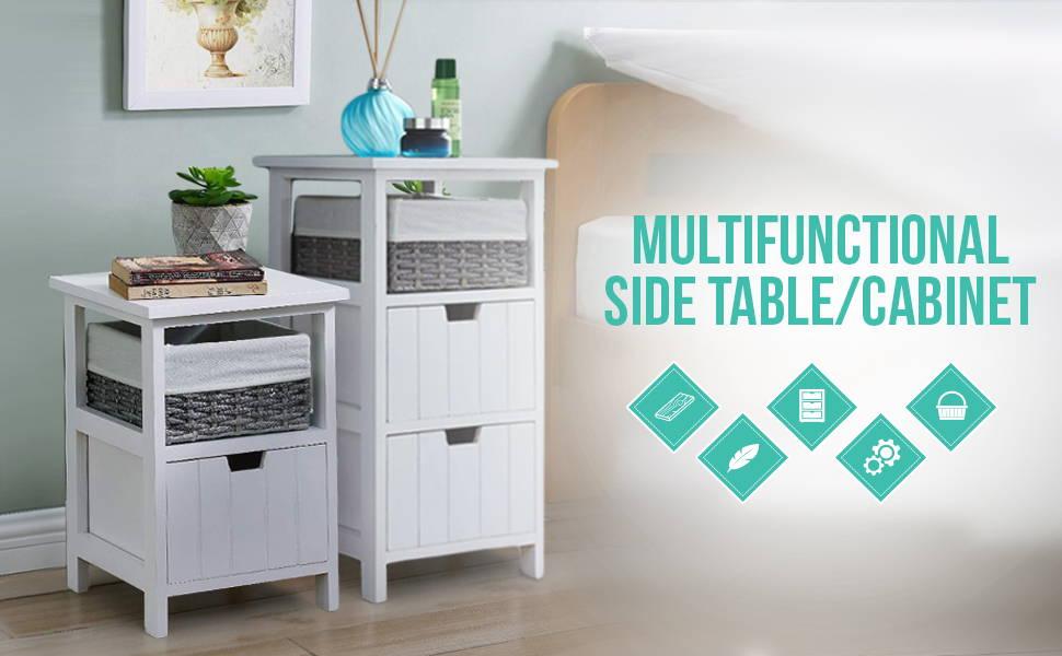 Multifunctional Side Table