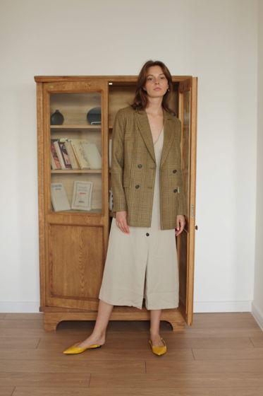 Пиджак прямого силуэта Brighton