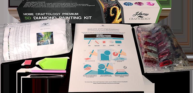 aaf98ad4d0 Mandala - Diamond Painting Kit – Home Craftology