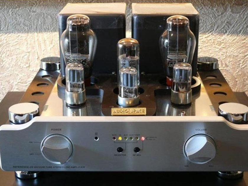 Audio Space Reference 2S Exceptional remote tube preamp