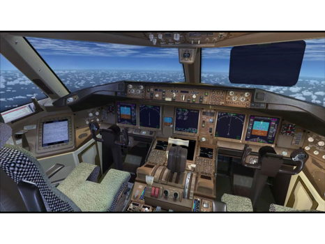 UPS Flight Simulator