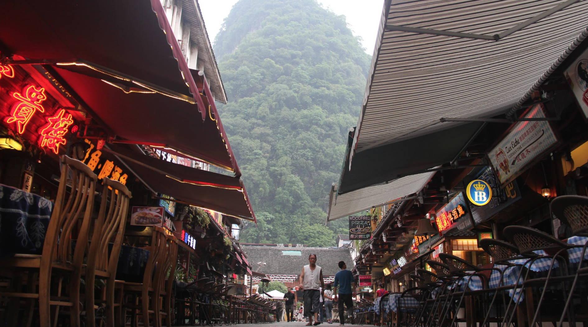 Market in Shenzhen China