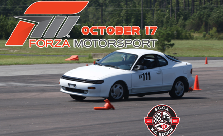Forza Motorsports at Cherry Point NCR Autox
