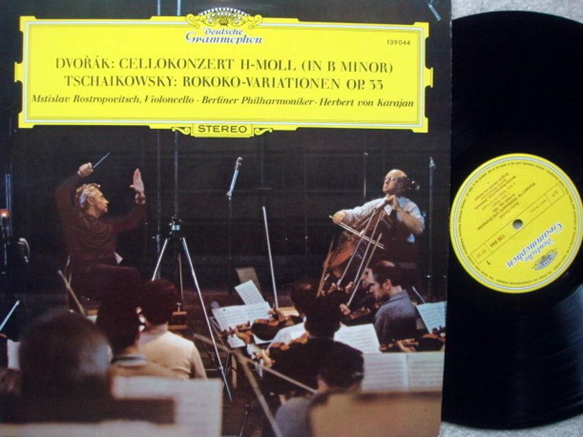 DG / Dvorak Cello Concerto, - ROSTROPOVICH/KARAJAN/BPO, EX!