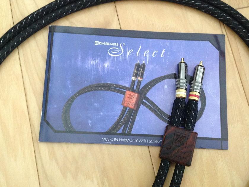 Kimber Kable ks 1030  RCA pair, 1.5 m