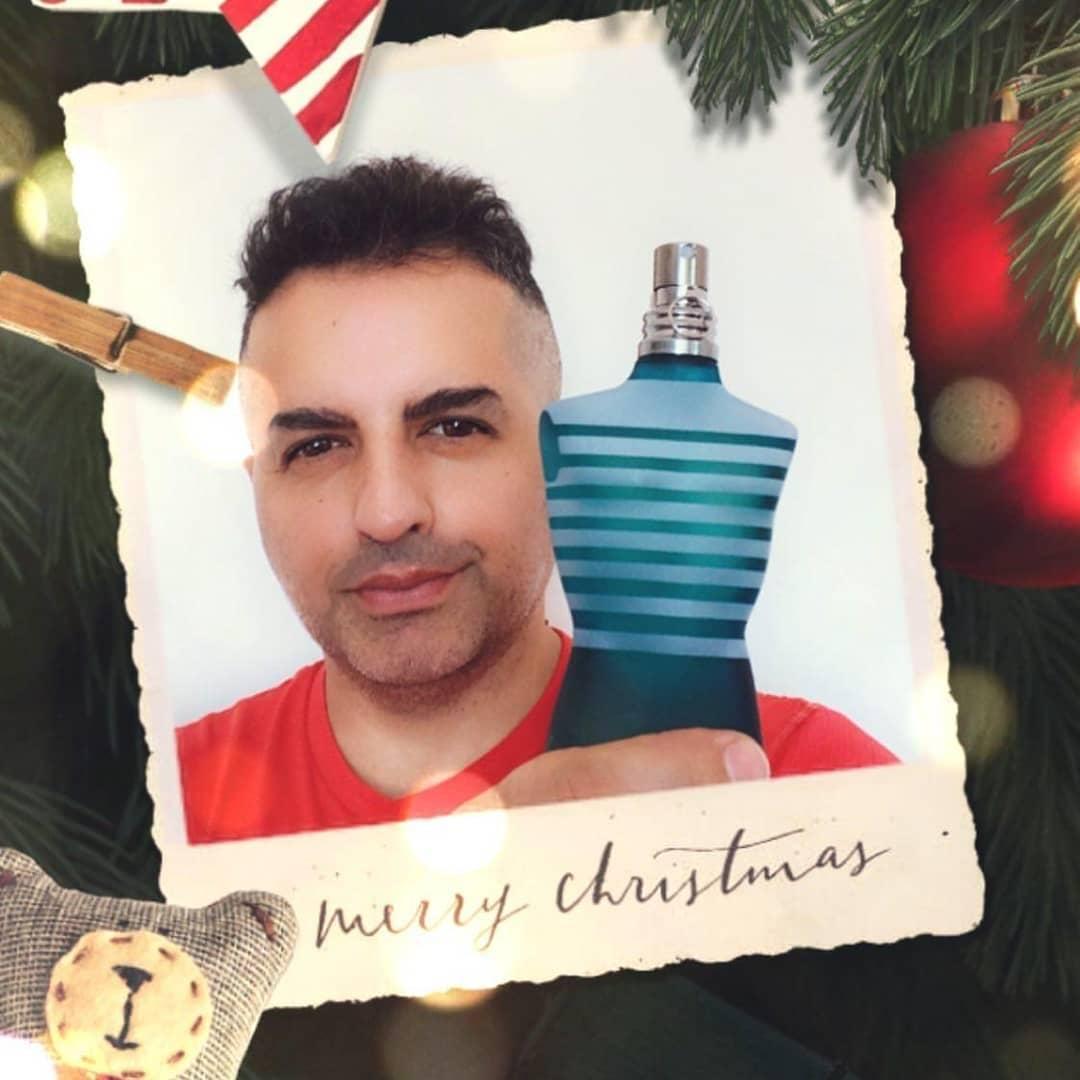 Angel De Brito compra sus perfumes en Club de Fragancias
