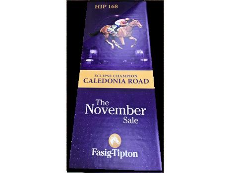 Caledonia Road Fasig-Tipton Sales Banner