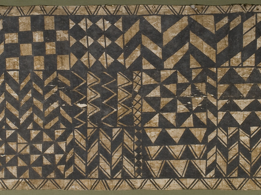 Tapa cloth   Emuseum: 2005.1.133 Oceanic Art