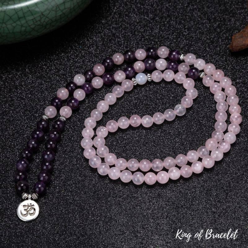 Bracelet Mala de Lithothérapie  - King of Bracelet